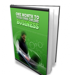 1 month to your own online business